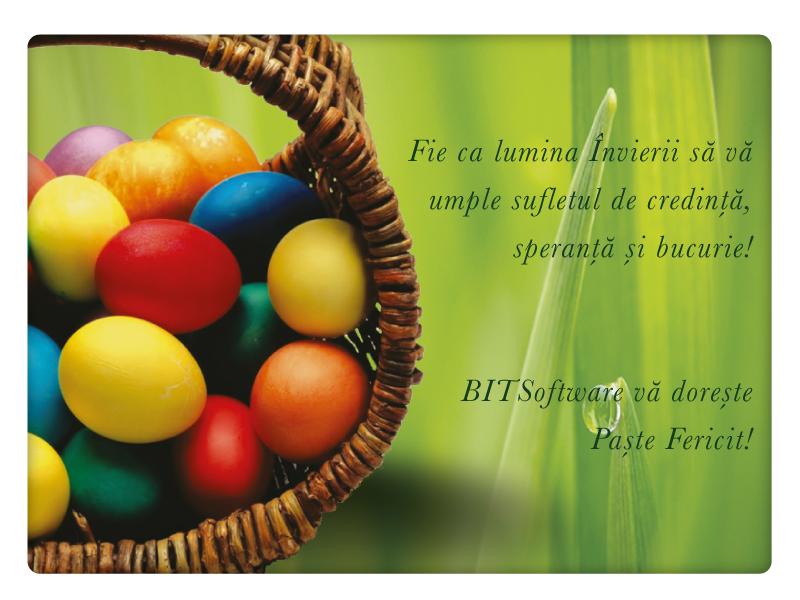 BITSoftware vă dorește Paște fericit!