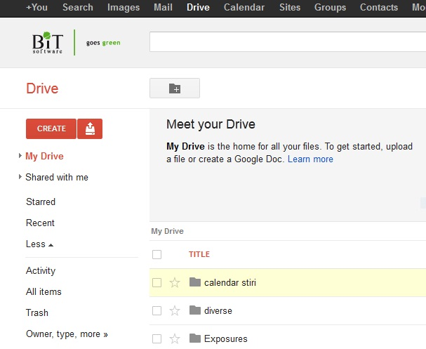 Google Apps for Work Google Drive